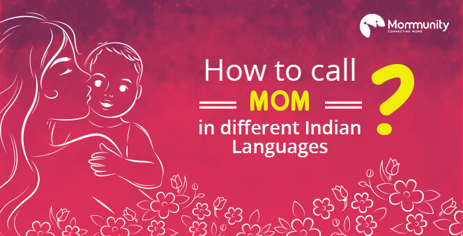How to say 'Mom' in different Indian Languages Banner