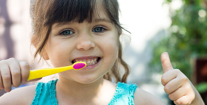 Planning and managing your toddler's dental hygiene is now super easy