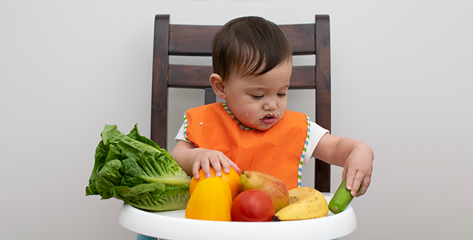 10 Superfoods to healthfully encourage baby's weight gain