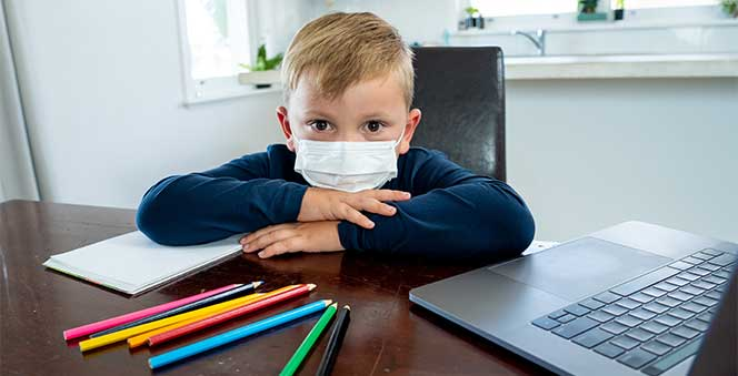 Tips to Survive during this pandemic Lockdown as a Family Banner
