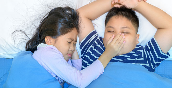 Is your child snoring? It may be a sign of a serious sleep issue! Banner