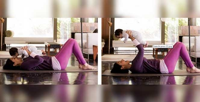 6 ways for mom to Workout with Baby Banner