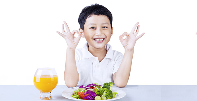 Try these brilliant tips  to increase your child's appetite and make them eat better. Banner
