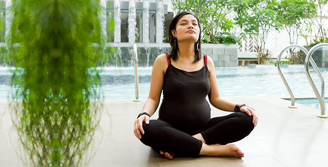 Importance of exercises during pregnancy Banner