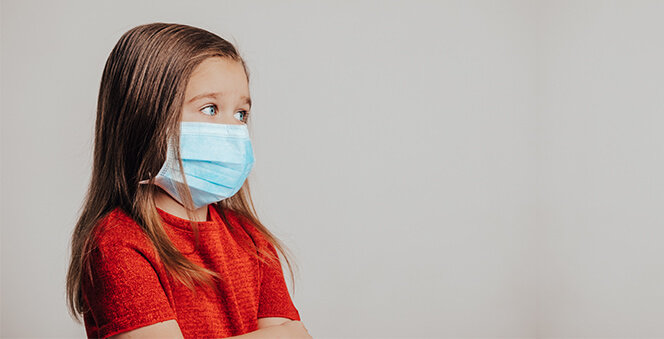 Coronavirus Pandemic: What to do if Your Child Is Feeling Sick Banner