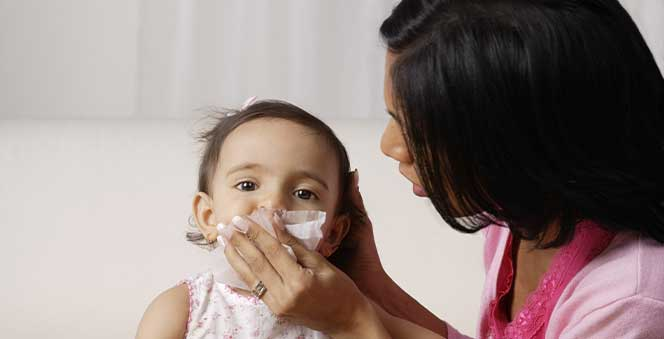 Home Remedies to cure your baby's cough and cold Banner